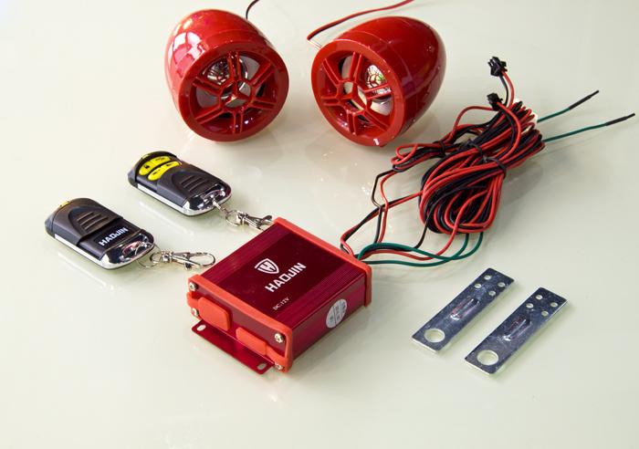 广州豪进MP3音响防盗器