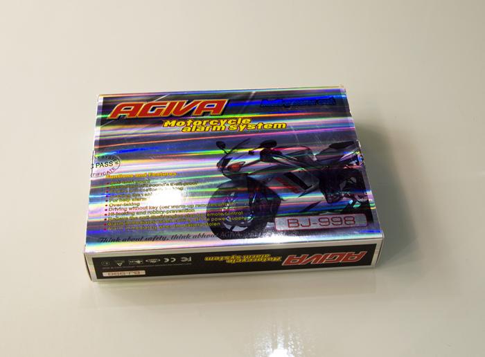 雷震子定制款摩托车防盗器