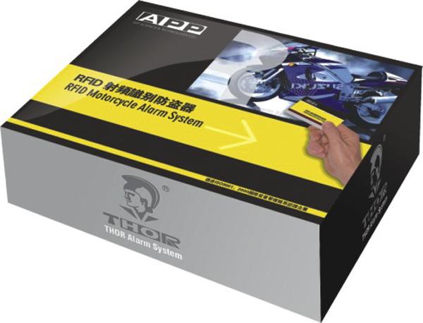 雷震子摩托车RFID暗锁防盗器包装