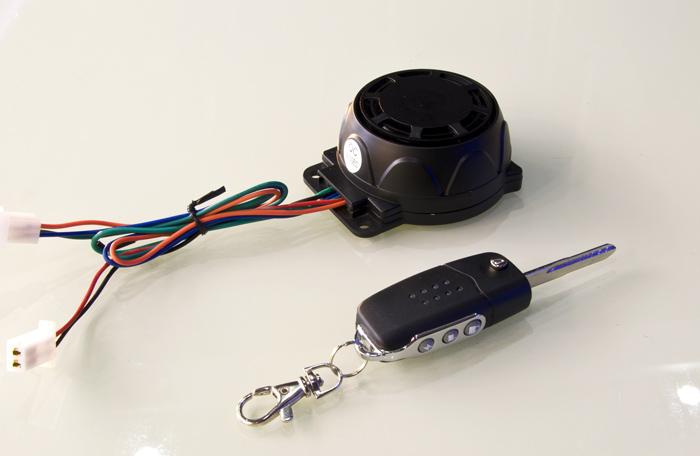 雷震子电动车防盗器,电动车防盗报警器