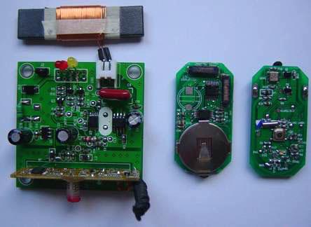 电动车自动智能感应防盗器